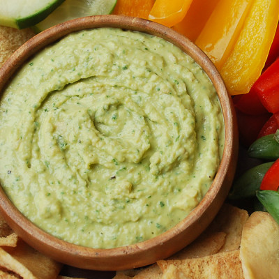 Lemon Kale Hummus