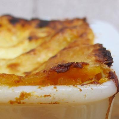 Lasagne à la courge musquée et sauge