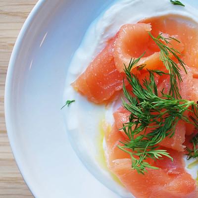 Smoked Salmon & Dill
